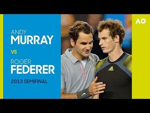 AO Classics: Andy Murray v Roger Federer (2013 SF)