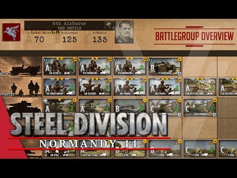 6th Airborne (Red Devils) - Steel Division: Normandy 44 Battlegroup Overview #9