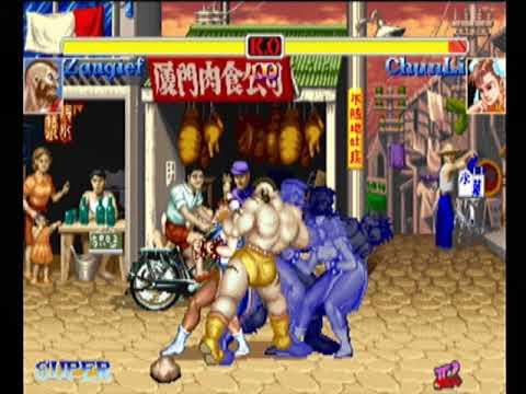 Zangief(Separate,35m) - HYPER STREET FIGHTER II