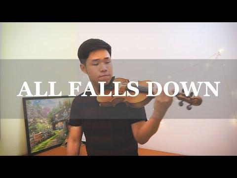 Alan Walker  All Falls Down Violin Instrumental  Alan Ng