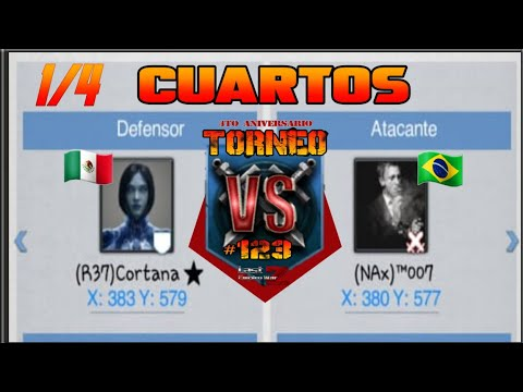 TORNEO Cuartos De Final | Cortana 🇲🇽 Vs 🇧🇷 007 | LAST EMPIRE WAR Z