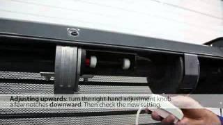 CENTREO Somfy Regolazione finecorsa motoriduttore per serrande con alberi a molla