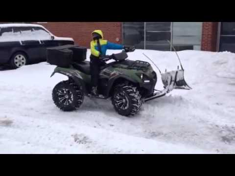 Kawasaki Brute Force Snow Plow