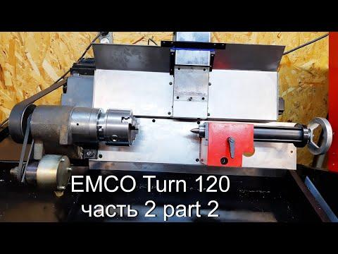 Восстановление чпу станка  Emco Turn 120 Repair Part 2