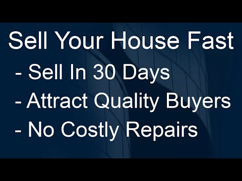 sell a home fast