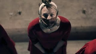The Handmaid's Tale 2x01 Hanging Scene (HD) This Woman's Work