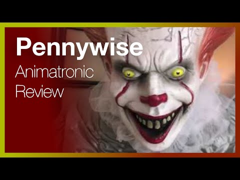 Pennywise from Stephen King's IT – Life Size Animatronic Halloween Decoration – Unboxing and Review