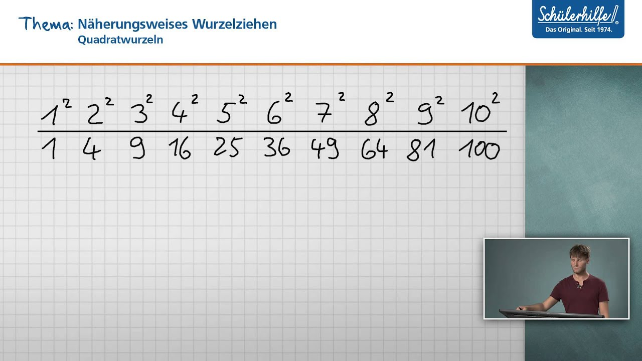 Näherungsweise Wurzelziehen // Quadratwurzeln // Mathematik ...