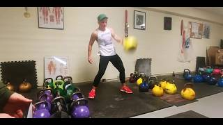 Unilateral Kettlebell Complex for Shoulder Stabilization and Endurance