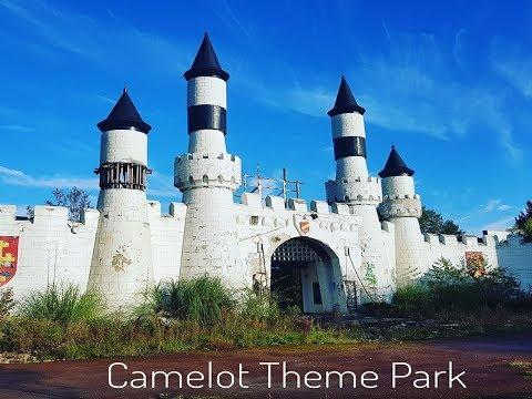 Exploring Abandoned Camelot Theme Park