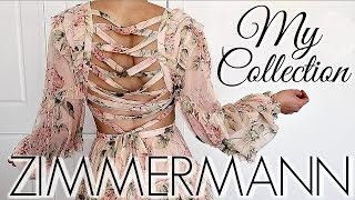 MY ZIMMERMANN DESIGNER FASHION COLLECTION || TRY ON