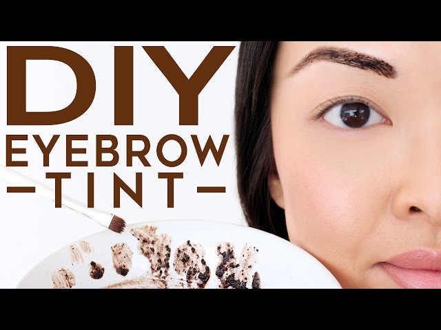 How To Dye Brows With Coffee Coffee Brow Dye