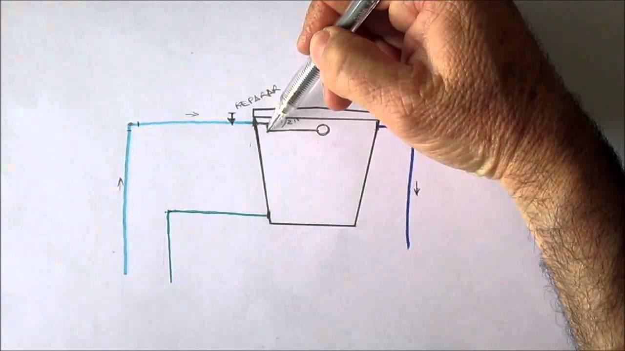 Instalaci n del tanque elevado youtube for Como instalar un estanque de agua