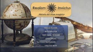 The latest version of Realism Invictus - Civilization 4