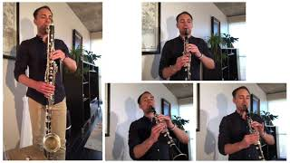 "TSO Clarinet and Bass Clarinet Miles Jaques performs ""Shall We Gather at the River"" 