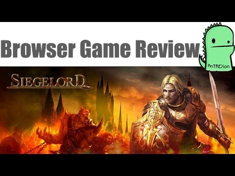 Siege Lord REVIEW - Browser RPG/RTS (2015)