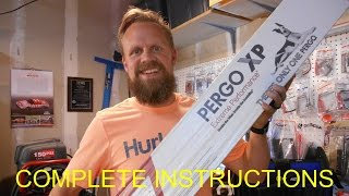 How to install laminate flooring | Real DIY Tips | Pergo XP Flooring