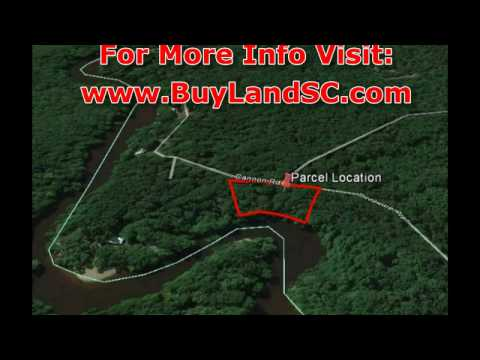 Waterfront Land for Sale, Edisto River South Carolina