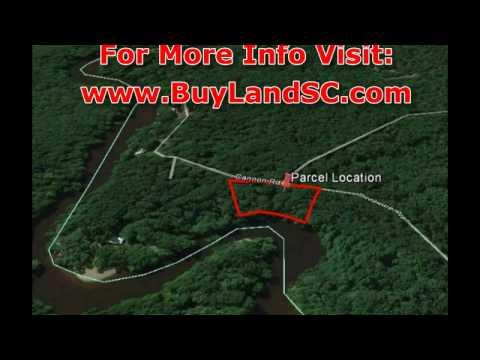 Waterfront Land for Sale, Edisto River South Carolina