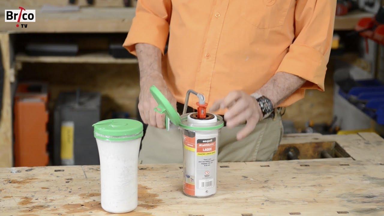 un rouleau à peindre avec une monture automatique - tuto robert ... - Comment Changer Un Rouleau De Peinture