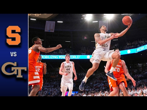 Syracuse vs. Georgia Tech Men's Basketball Highlights (2016-17)