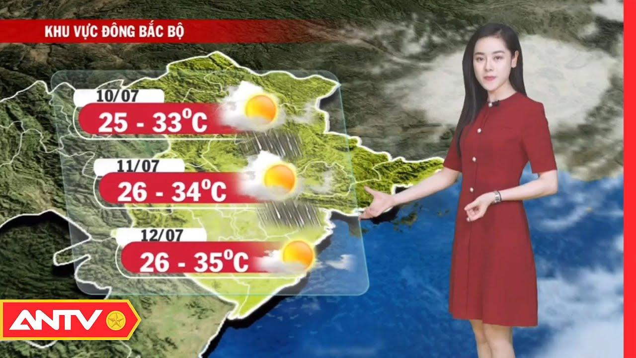 Dự báo thời tiết tối 9/7: Chiều tối Hà Nội tiếp tục có mưa rào và dông   ANTV   Thông tin thời tiết hôm nay và ngày mai