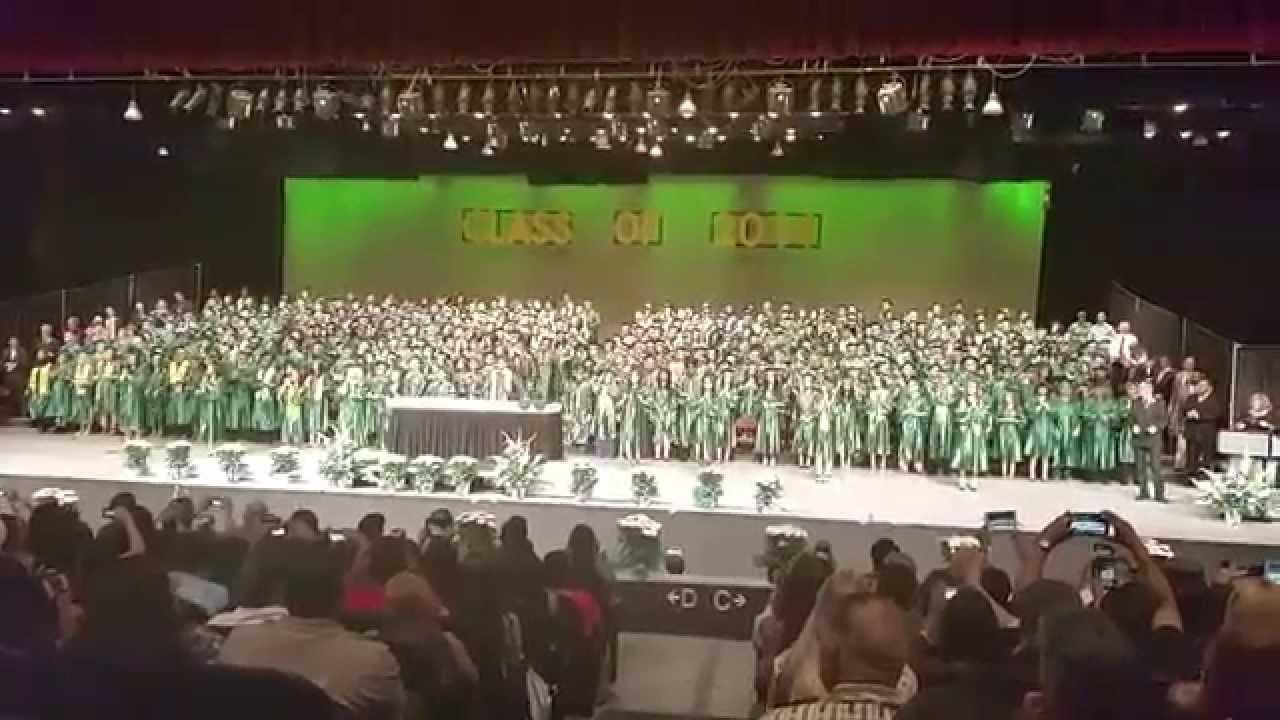 Highland High School Graduation Spell Yell 2014 Youtube