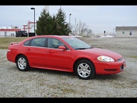 2013 chevrolet impala lt sedan red for sale dealer dayton troy piqua sidney ohio cp13767 youtube. Black Bedroom Furniture Sets. Home Design Ideas