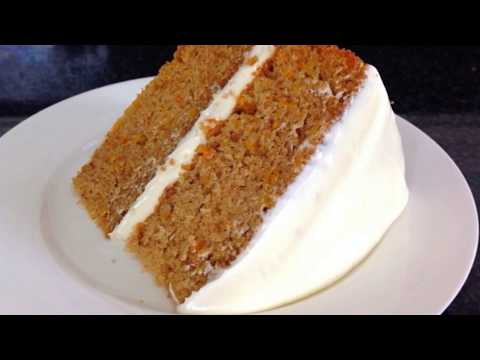Easy Baking Recipes-How To Make CARROT CAKE