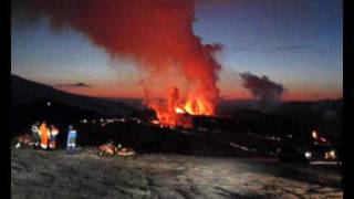 Iceland Volcano Eruption  Eyjafjallajökull - Eyjafjalla - Jeep Tour Trip to the eruption Side