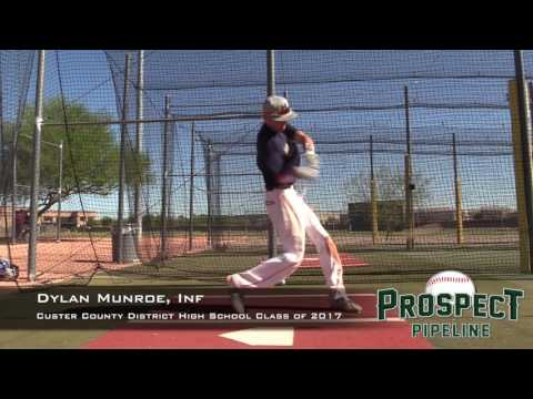 Dylan Munroe Prospect Video, Inf, Custer County District High School Class of 2017