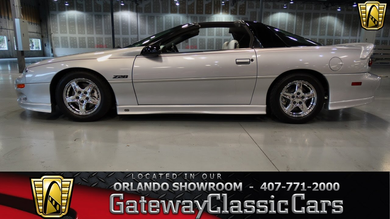 Chevy Ss Interior >> 1998 Chevrolet Camaro Z28 Gateway Classic Cars Orlando #125 - YouTube