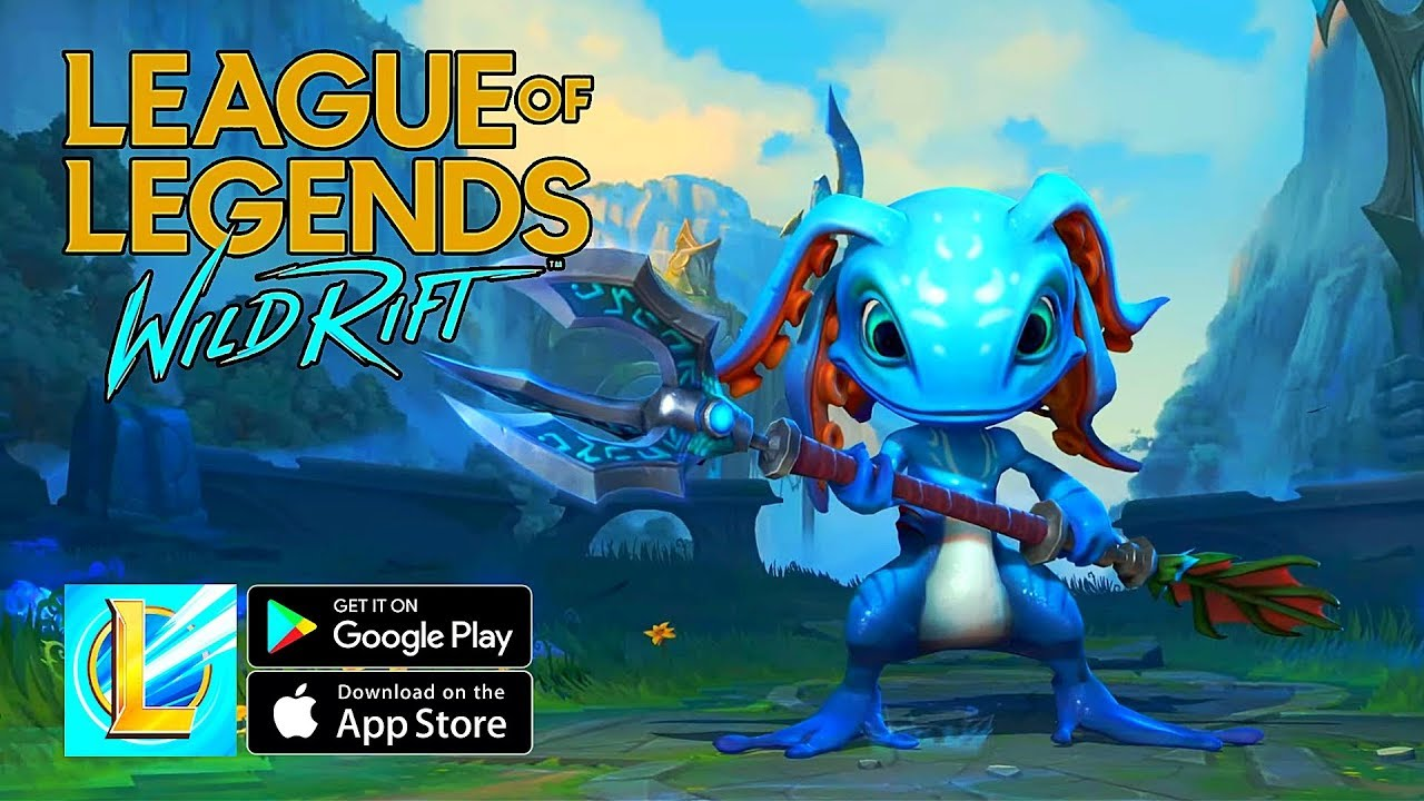 League of Legends: Wild Rift official gameplay reveals today by Riot