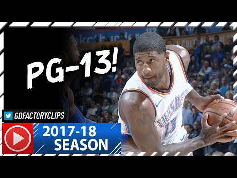 Paul George Full Highlights vs Mavericks (2017.11.12) - 37 Pts, 8 Reb, BEAST!