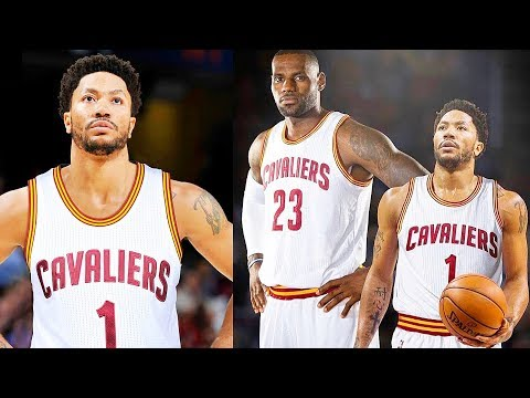 Derrick Rose Signs with Cavaliers! Derrick Rose Joins LeBron James on the Cavaliers
