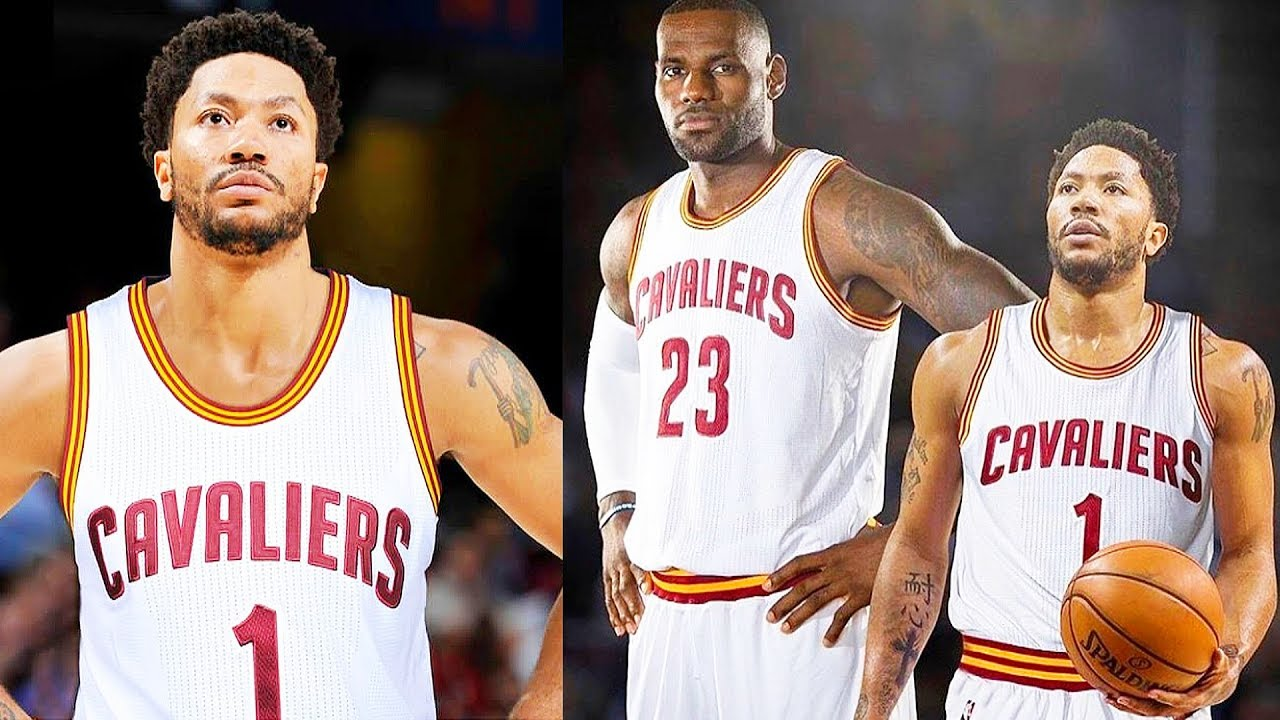 low priced f4c1c b218c Derrick Rose Signs with Cavaliers! Derrick Rose Joins LeBron James on the  Cavaliers