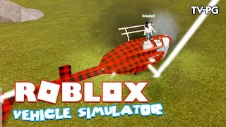 THE LOST ISLAND IS IN THE GAME!!! OUR HELICOPTER CRASH! | Roblox Vehicle Simulator