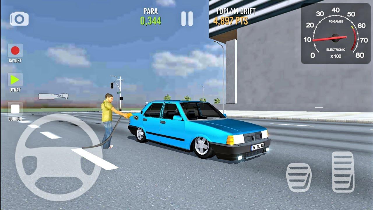 Drift Simulator Modifiye Sahin Mavi Tofas Oyunlari Youtube