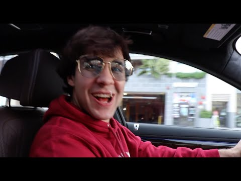 LETTING DAVID DOBRIK RACE MY BRAND NEW CAR!