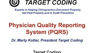 target coding pqrs for chiropractic
