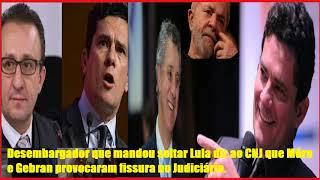 Desembargador que mandou soltar Lula diz ao CNJ que Moro e Gebran provocaram fissura no Judiciário.
