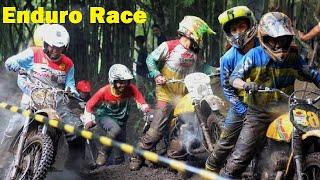 Balapan BUKAN KALENG2 Paling Russuhh - Enduro Racing Motor Cross