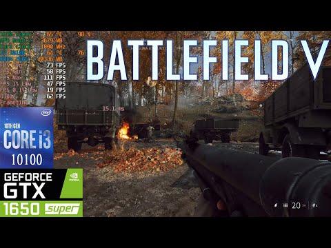 Battlefield V - I3 10100 + GTX 1650 Super [ULTRA Settings Benchmark]