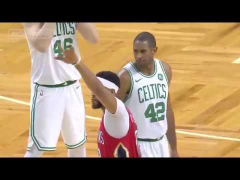 New Orleans Pelicans vs Boston Celtics - First Half Highlights | Jan 16, 2018 | 2017-18 NBA Season
