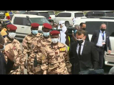 French President arrives at funeral of Chad's Deby | AFP