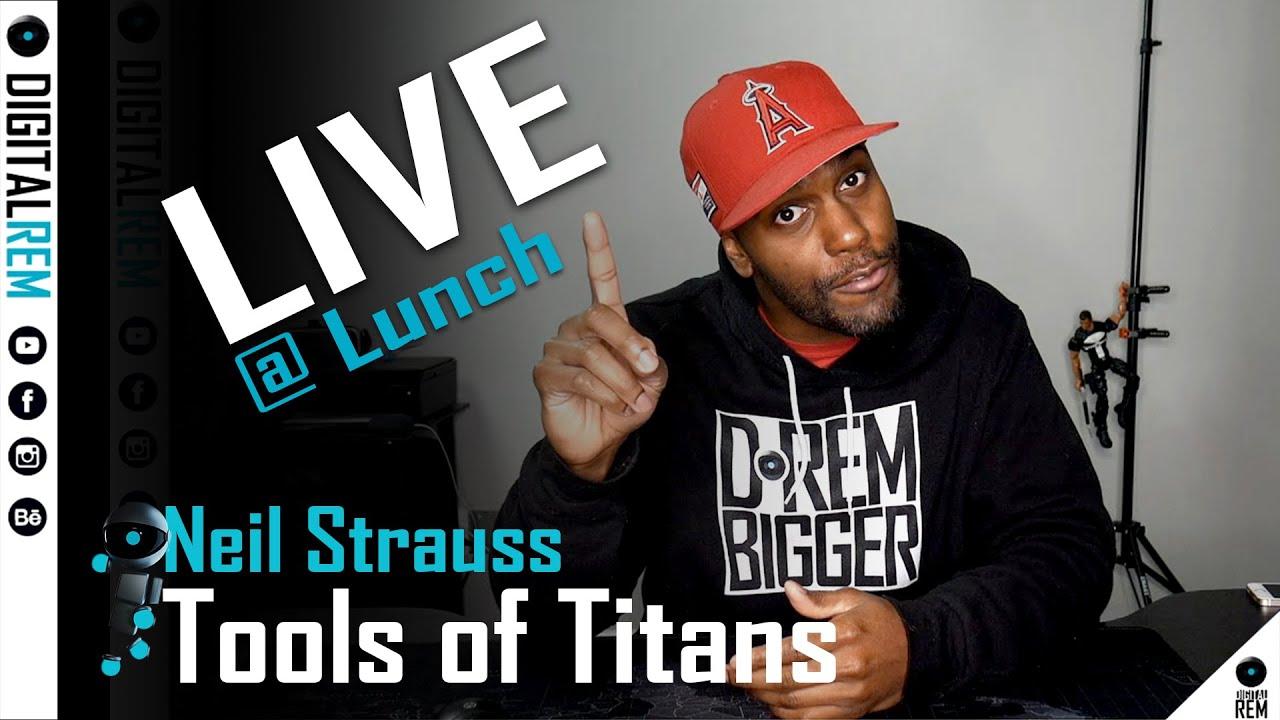 Live at Lunch | Tools of Titans | Neil Strauss