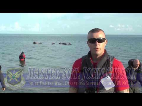 Water Survival Training For Pilots