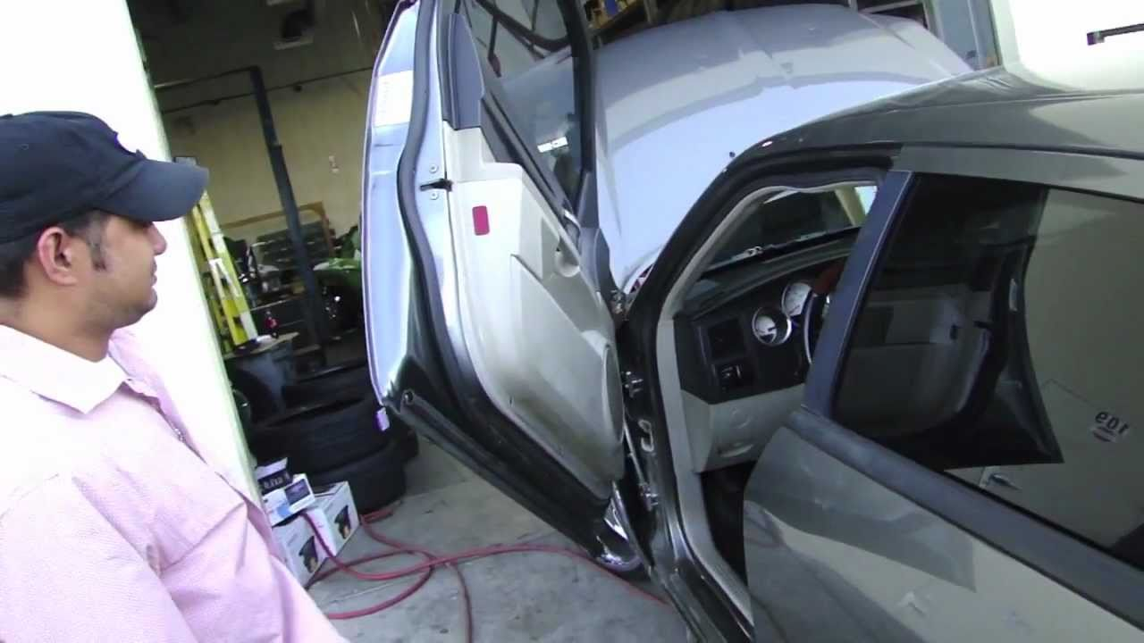 & dodge magnum on 24u0027s with Lambo doors - Led/Hid Lights -pt1 - YouTube pezcame.com
