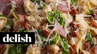 How To Make Tuscan Tortellini Salad