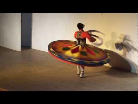Национальный египетский танец - Танура